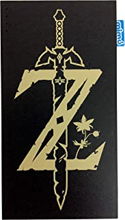 Legend of Zelda Breath of the Wild Sword MimoPowerDeck 8000mAh Universal USB Power Bank by Mimoco for smartphones, tablets, watches, Bluetooth audio, handheld gaming systems, e-readers, and 5V devices