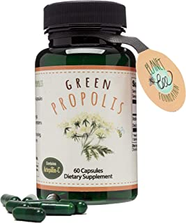 GREENBOW Green Propolis – Genuine Brazilian Green Propolis, Contains Artepillin C – One of The Most Nutrition Packed Diet ...