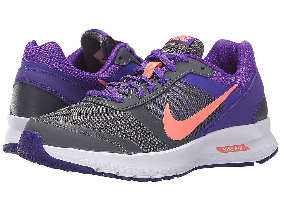 Nike Air Relentless 5 (Dark Grey/Fierce Purple/White/Atomic Pink) Women