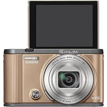 CASIO デジタルカメラ EXILIM 自分撮りチルト液晶 EX-ZR1700GD ゴールド