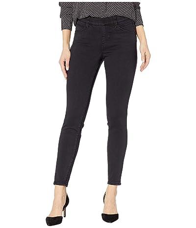 Jag Jeans Petite Petite Bryn Skinny Pull-On Jeans (Black) Women