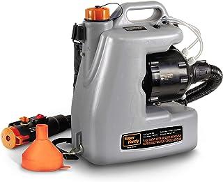 SuperHandy ULV Eléctrico Pulverizador Desinfectante Atomizador Mochila Niebla Plumero Fogger12L/3Gal. Nebulizador de Partí...