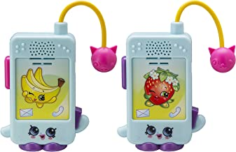 Shopkins Character Walkie Talkies for Kids Static Free Extended Range