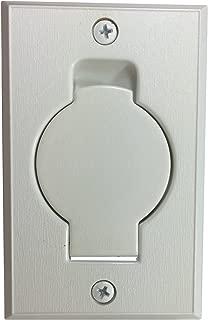 Hayden Inlet Valve with Round Door-White