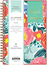 Day Designer for Blue Sky 2019-2020 Academic Year Weekly & Monthly Planner, Flexible Cover, Twin-Wire Binding, 5
