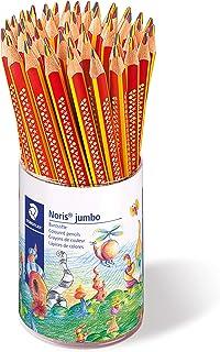 ステッドラー 色鉛筆 ジャンボ 3色(赤・青・黄) 油性色鉛筆 ノリスクラブ 1274 KP50