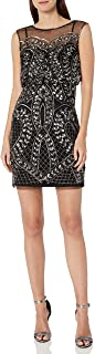 Women's Beaded Short Dress