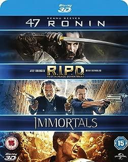 47 Ronin / RIPD / Immortals 2011 Region Free