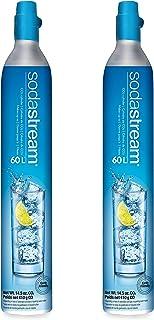 SodaStream 60 L Co2 Exchange Carbonator, 14.5 Oz, Set of 2, Plus $15 Amazon.com Gift Card with Exchange