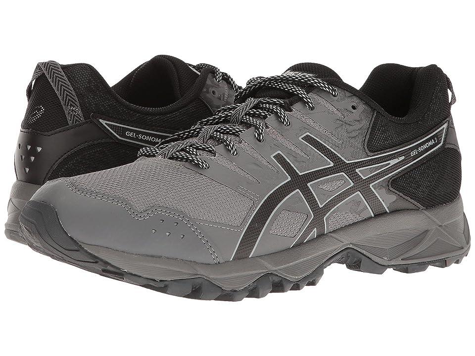 ASICS GEL-Sonoma 3 (Carbon/Black/Mid Grey) Men