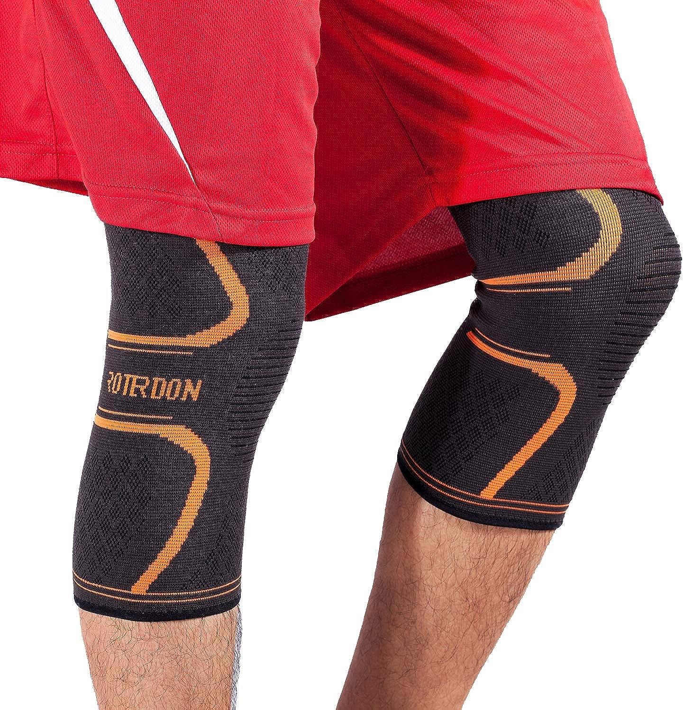 976d4094b Rederdon Best Knee for Men Women Knee Support for Running Crossfit ...