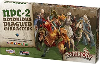 Zombicide: Black Plague Notorius Plagued Characters 2 Board Game