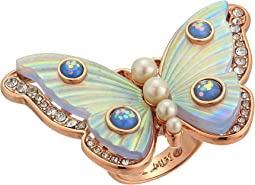 Betsey Johnson Butterfly Statement Ring