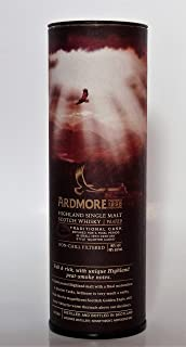 The Ardmore TRADITIONAL PEATED Highland Single Malt 46% Volume 0,05l in Geschenkbox Whisky