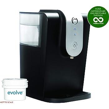 Aqua Optima WC0115 Enfriador de Agua Filtrada Lumi, 8.2 litros, Plastic, Negro: Amazon.es: Hogar