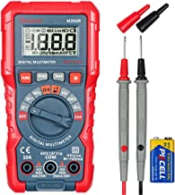 AstroAI Multimeter Tester, TRMS 2000 Counts Volt Meter Manual and Digital Auto Ranging; Measures Voltage, Current, Resista...