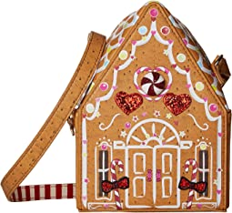 Gingerbread House Crossbody