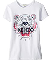 Kenzo Kids - Classic Tiger Tee Shirt (Big Kids)