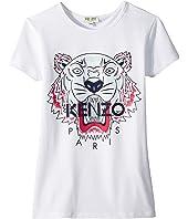 Kenzo Kids - Classic Tiger Tee Shirt (Big Kids)