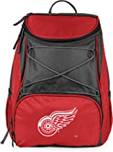 NHL Detroit Red Wings PTX Insulated Backpack Cooler, Red