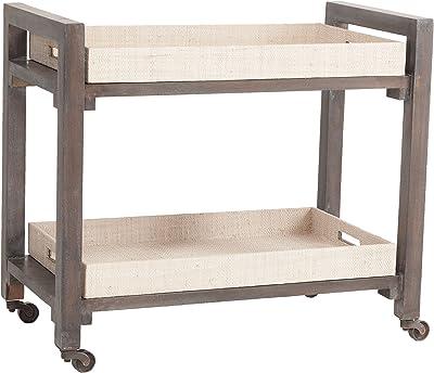 "Dimond Home Wright Bar Cart, 37"" x 16"" x 26"""