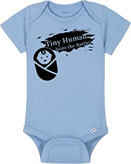 Smash Bros Baby Onesie® - Tiny Human Joins The Battle - Smash Brothers Intro