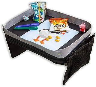Modfamily Kids E-Z Travel Tray for Kids - Works with Any Car Seat and Wraps Around Child's Waist- Creates an Organized Pla...