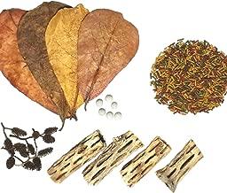 Aquatic Foods Inc. Freshwater Shrimp Starter Kits, Including Shrimp Food, Cholla Wood, Alder Cones and Japanese Mineral Balls