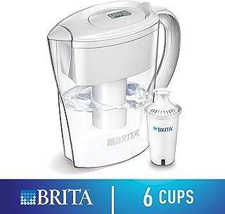 Brita 空间节省滤水壶 白色 6 Cups 35250