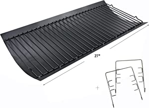 Hisencn 27 inch Ash Pan Repair Parts for Chargriller 1224, 1324, 2121, 2222, 2727, 2828, 2929 Charcoal Grills, Charbroil 17302056, 27