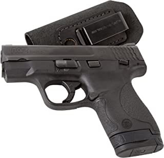 Relentless Tactical The Ultimate Suede Leather IWB Holster - Made in USA - Fits S&W M&P Shield - Glock 17 19 26 43 / Springfield XD & XDS/H&K VP9 & All Similar Handguns