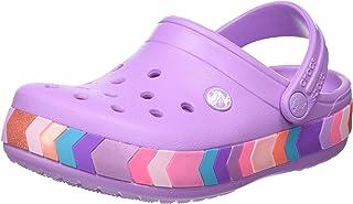 Crocs Kids' Crocband Chevron Beaded Clog
