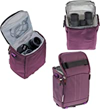 Navitech Purple Protective Portable Handheld Binocular Case and Travel Bag for the Nikon PROSTAFF 8x42