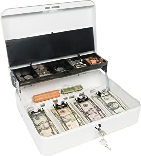 Jssmt Large Cash Box With Lock