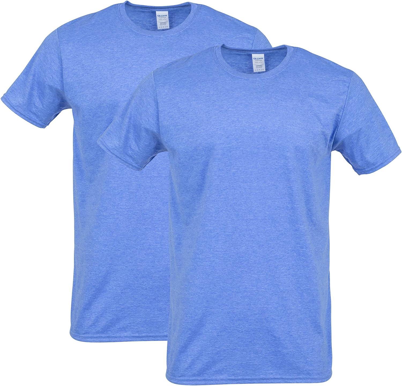 Gildan Men's Softstyle Cotton Style 2-Pack G64000 T-Shirt Ranking TOP15 Oklahoma City Mall