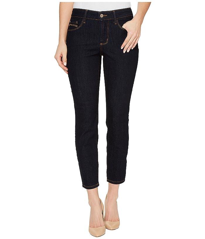 NYDJ Petite Petite Alina Skinny Ankle in Dark Enzyme (Dark Enzyme) Women's Jeans