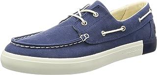Timberland Newport Bay 2 Eye Boat OxBleu Iris Canvas, Chaussures Bateau Homme, Bleu (Bleu Iris Canvas), 43.5 EU