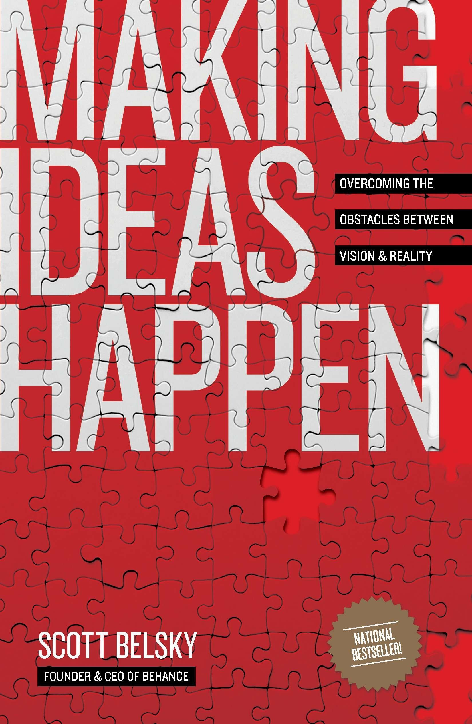 Image OfMaking Ideas Happen: Overcoming The Obstacles Between Vision And Reality