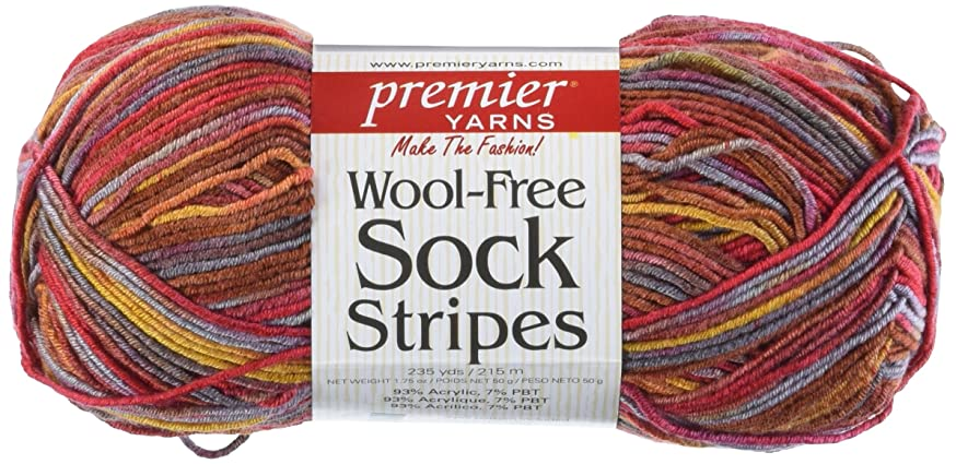 Premier Wool Free Sock Yarn - Phoenix 1/Package (42-6)