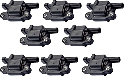 Pack of 8 Ignition Coils for - Cadillac Chevy GMC Pontiac - G8 Grand Prix H3