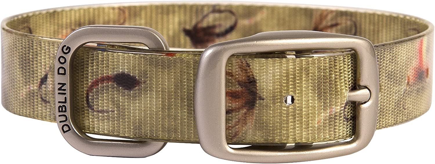 Year-end gift Excellence Dublin Dog KOA Collection Waterproof 10 Colors Collar Avail