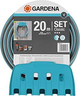 Gardena Wall Hose Bracket Classic with Hose