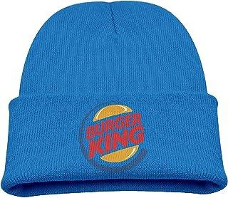 328e35b9 AsenraChild's Cuff Cap Burger King Logo Knit Beanie