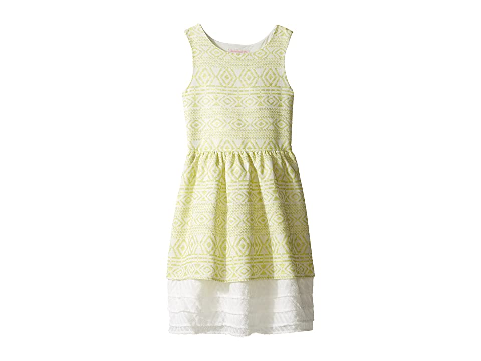 Appaman Kids Amaryllis Dress (Toddler/Little Kids/Big Kids) (Citrus Ice) Girl