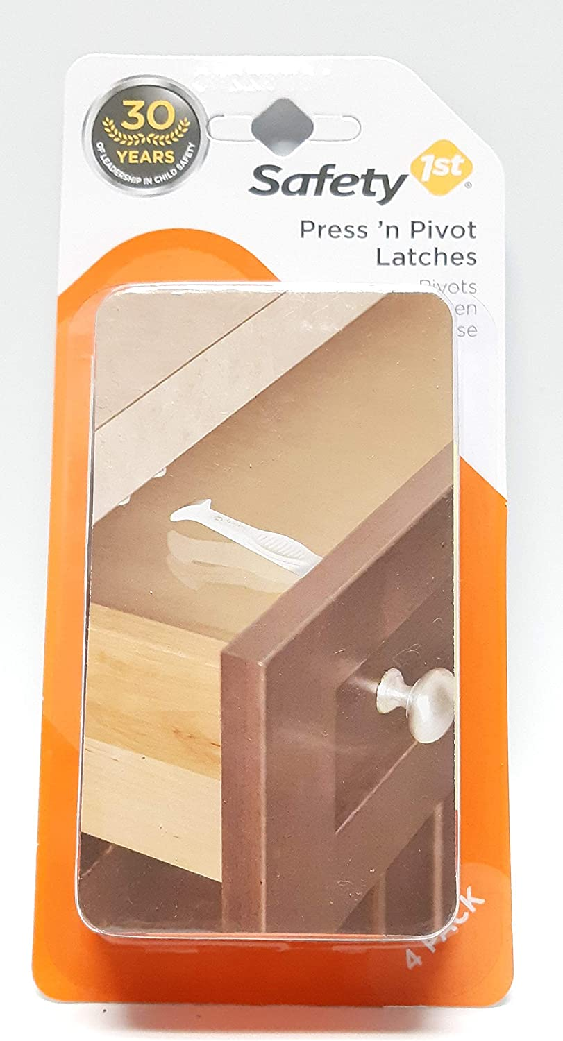 Press 'n Pivot Latches 4 Count Package