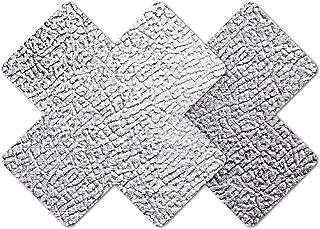 Nippies Style Silver Cross Waterproof Self Adhesive Nipple Cover Pasties