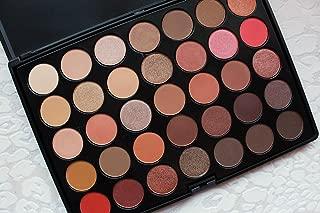Crown Brush Rose Gold Eyeshadow Palette - 35RG