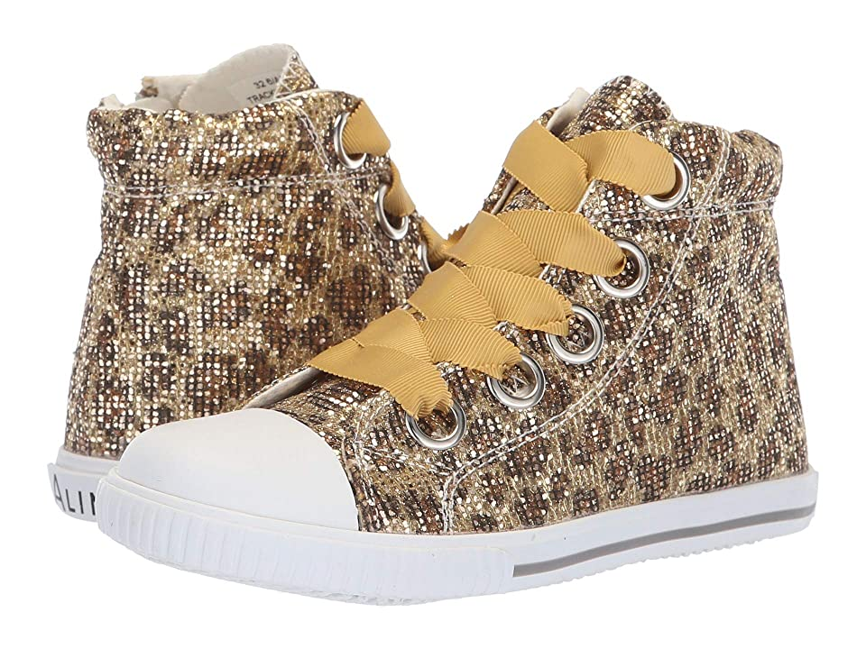 Amiana 6-A0920 (Toddler/Little Kid/Big Kid/Adult) (Gold Leopard Glitter) Girl