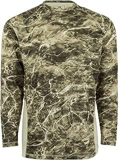 Mossy Oak Elements Long Sleeve Moisture Wicking Fishing Shirt