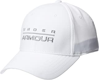 Under Armour Men's Wordmark STR Cap, Mod Gray, Medium/Large